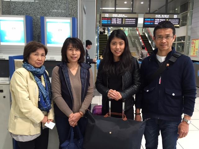 Natsuho オーストラリアでたくさん貴重な経験をしてくださ!