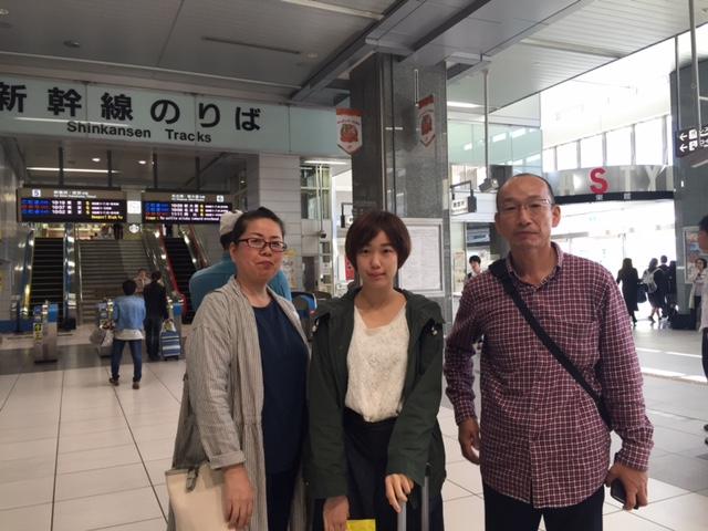 Sachi いざ2カ国留学へ! お土産もありがとう! 体に気をつけて頑張って! たまにはご家族にも連絡を!