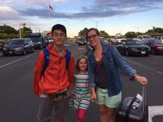 Kento 14歳の一人旅♪ サマーキャンプ参加 来年はカナダ留学へ!