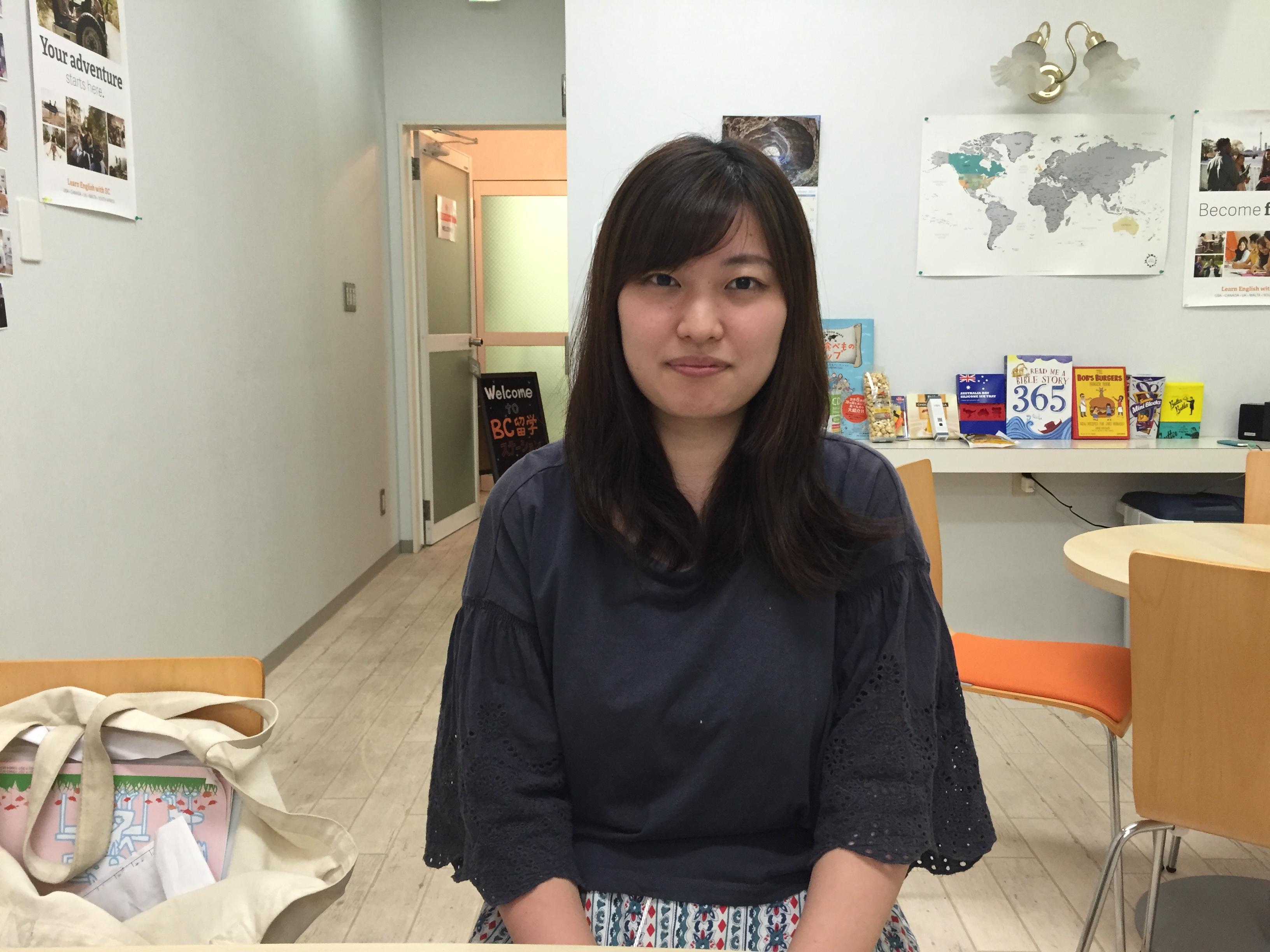 Ayano 仕事の休暇の合間でフィリピン留学!