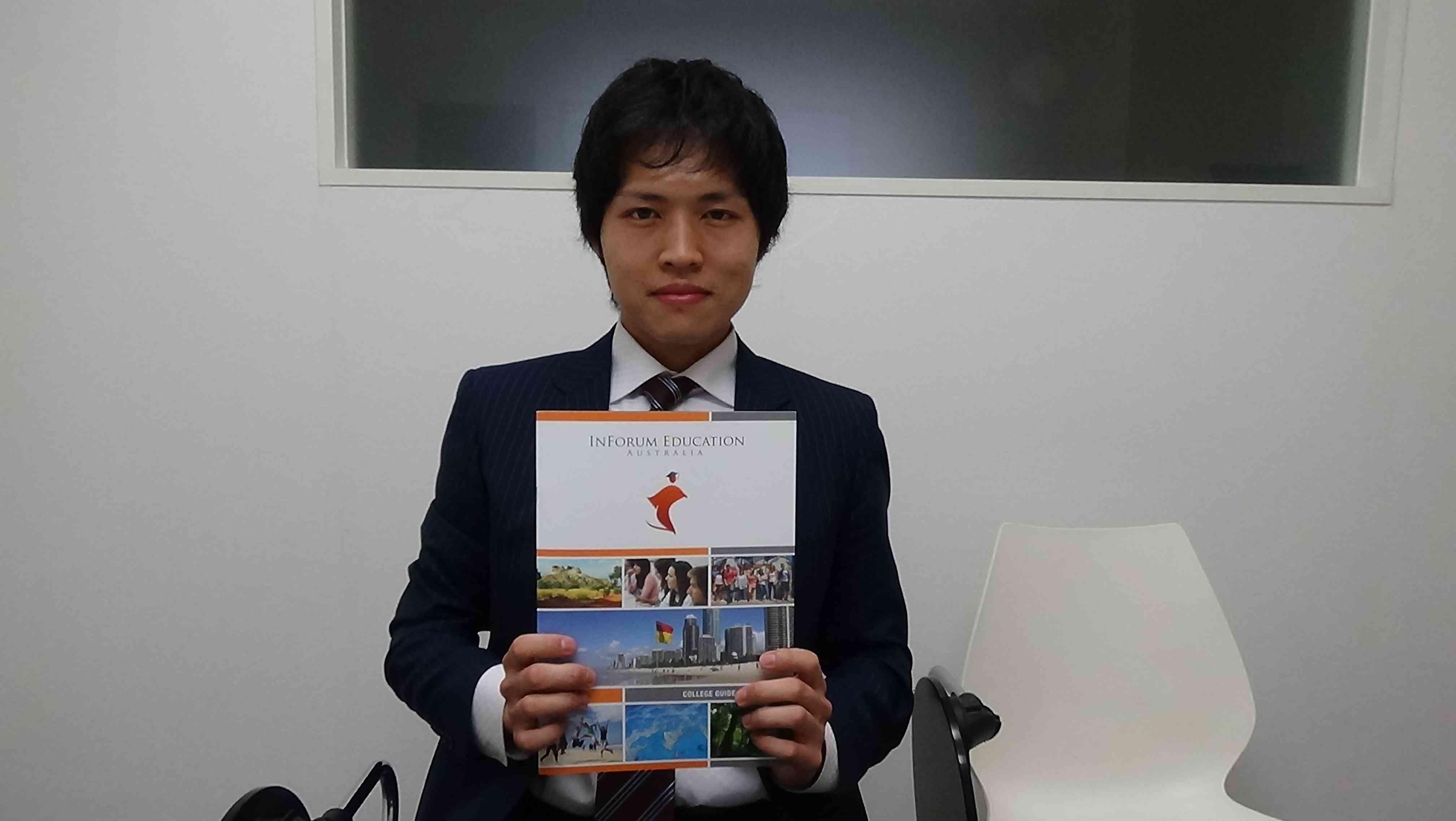 日本人スタッフのRyotaさん
